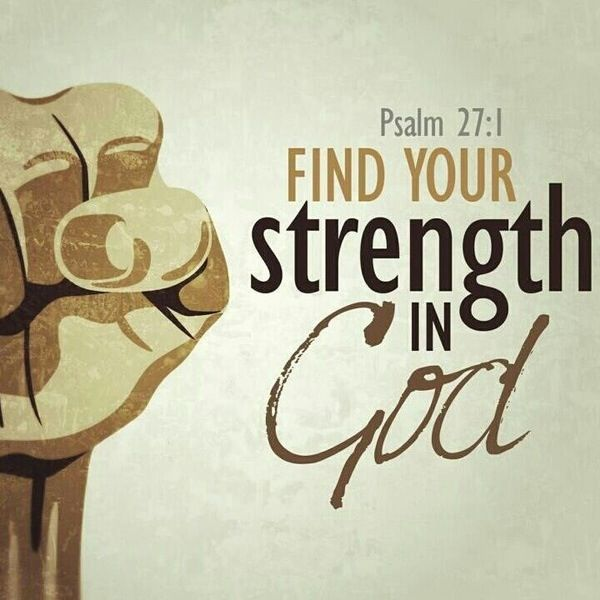 Image result for my strength comes from god