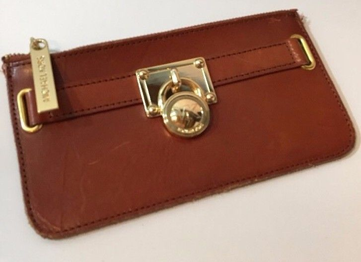 MK MICHAEL KORS Coin Purse Leather Gold Padlock | Clothing, Shoes & Accessories, Women's Handbags & Bags, Handbags & Purses | eBay!