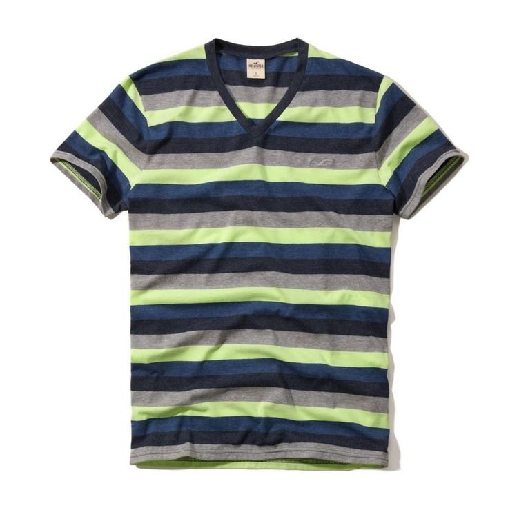 Hollister by Abercrombie Men West Street Seagull V-Neck T-shirt Tee - $0 Ship #Hollister #GraphicTee