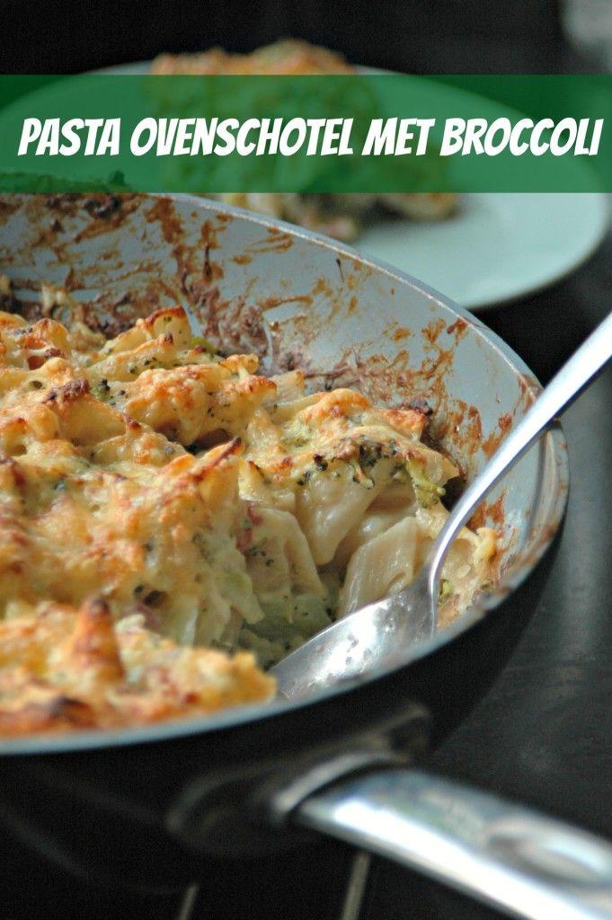 Pasta ovenschotel met broccoli! Kinderen zijn dol op dit recept. Een gezondere versie van macaroni met kaas :-)