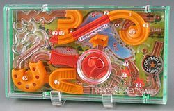 Tomy Pocket Game Obstacle Course | 1979