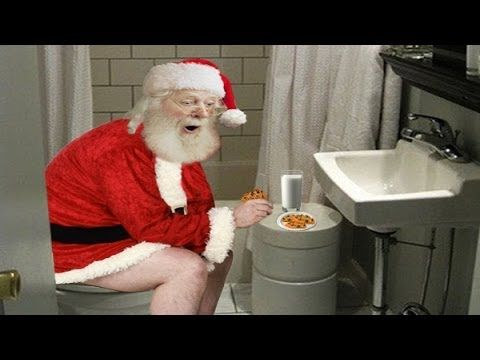 Funny Christmas Song for all Ages!!! Santa - On the Throne Again - YouTube