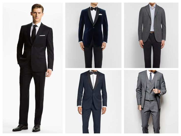 formal wedding guest attire male