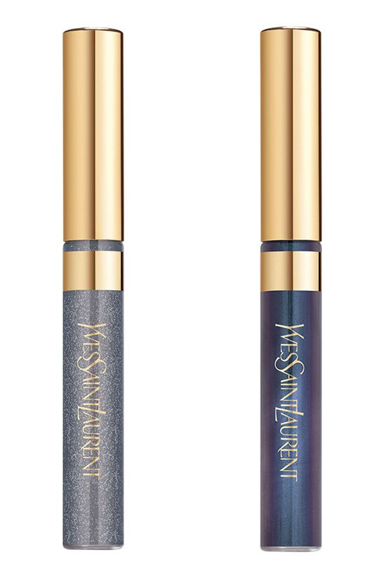 YSL Cuirs Fetiches Collection for Fall 2014 - Babydoll Eyeliner Gris Vinyl (17) Blue-gray - Bleu Patine (18) Blue