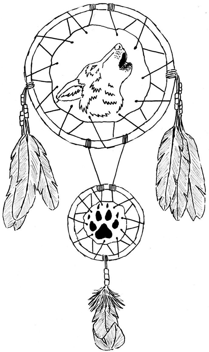 Wolf mandala coloring pages - Dragon Dreamcatcher Hip Tattoos 25 Stunning Henna Tattoo Designs On Hands