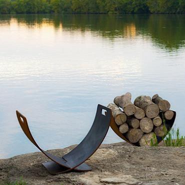 Wings of Flight Firewood Rack