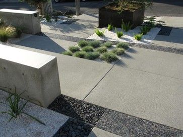 grounded modern landscape architecture modern landscape - Minimalist Landscape Architecture