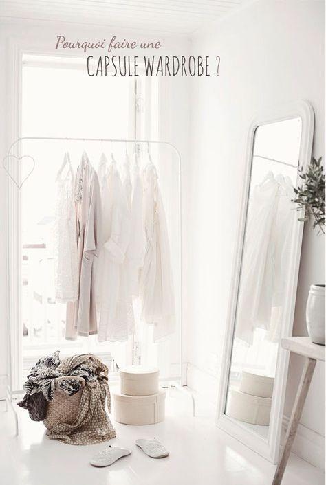 Créez une capsule wardrobe en privilégiant la qualité à la quantité dans votre garde-robe pour gagner du temps, de la tranquilité et de l'argent.