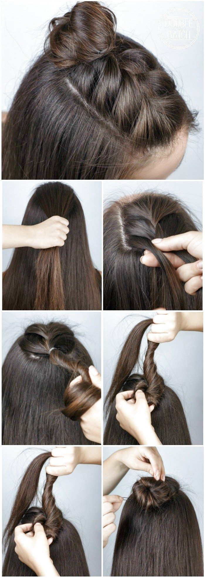 DIY Half Braid hairstyle Tutorial such an easy and quick hair idea for girls #ClassicBoxBraidHairstyles Click for further information