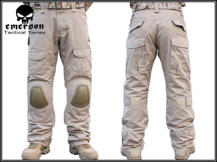 Multicam-army-pants-Combat-Pants-CB-TAN-with-pads-Size-30-38-.jpg (800×600)