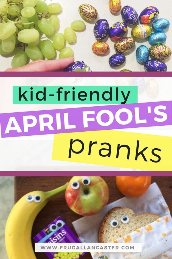 If you want to have some friendly fun with your kids on April Fool's day, try some of these fun, kid-friendly pranks!