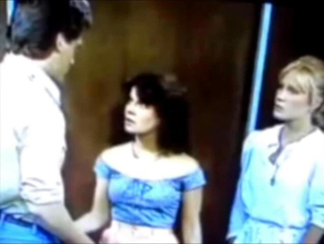 GUIDING LIGHT: Kelly, Hillary  (Marsha Clark) and Trudy (Amy Jo Steel).