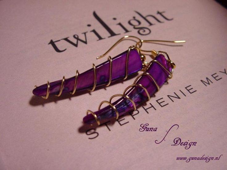 Twilight Saga:Earrings Bella's lullaby | Craftsy   Pattern in PDF