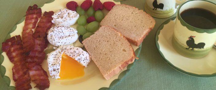 Poached Egg Recipe — Verlorene Eier Rezept
