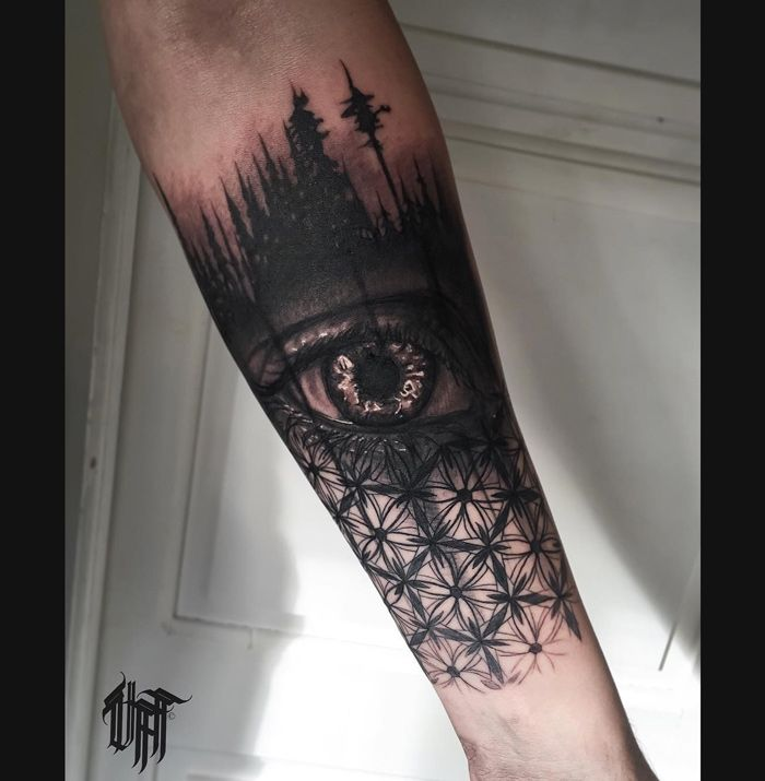 Black Tears http://tattooideas247.com/eye-trees/                                                                                                                                                                                 Más