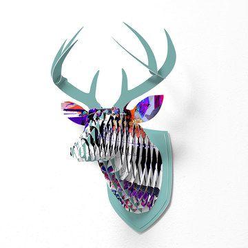 Cardboard animal heads - by DENY Designs