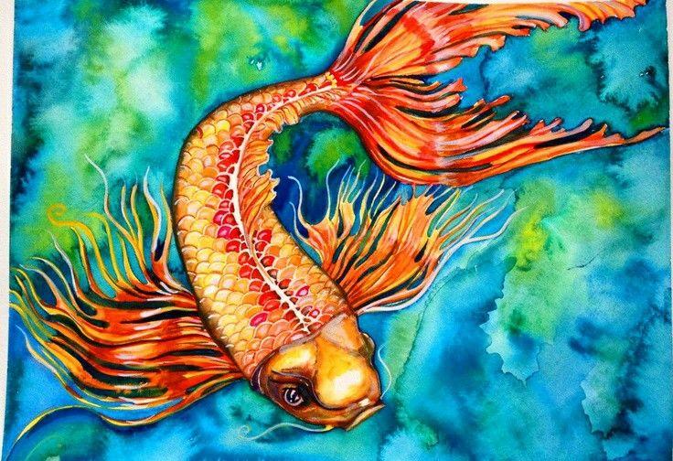 Gold fish (pez dorado)