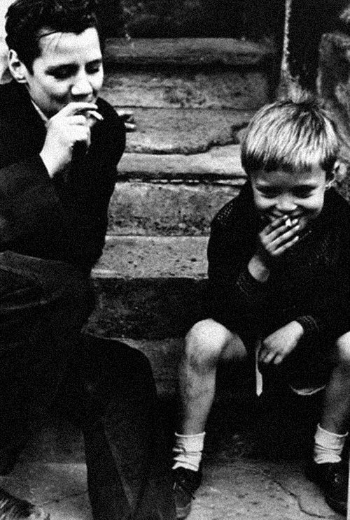 Boys Smoking, 1956 Photo: Roger Mayne