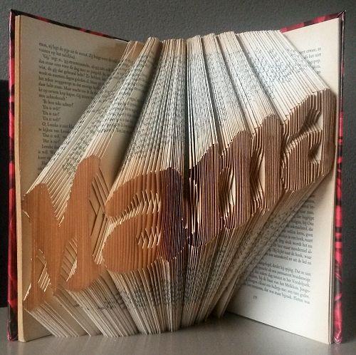 Knutselwerkje Boekkunst 1