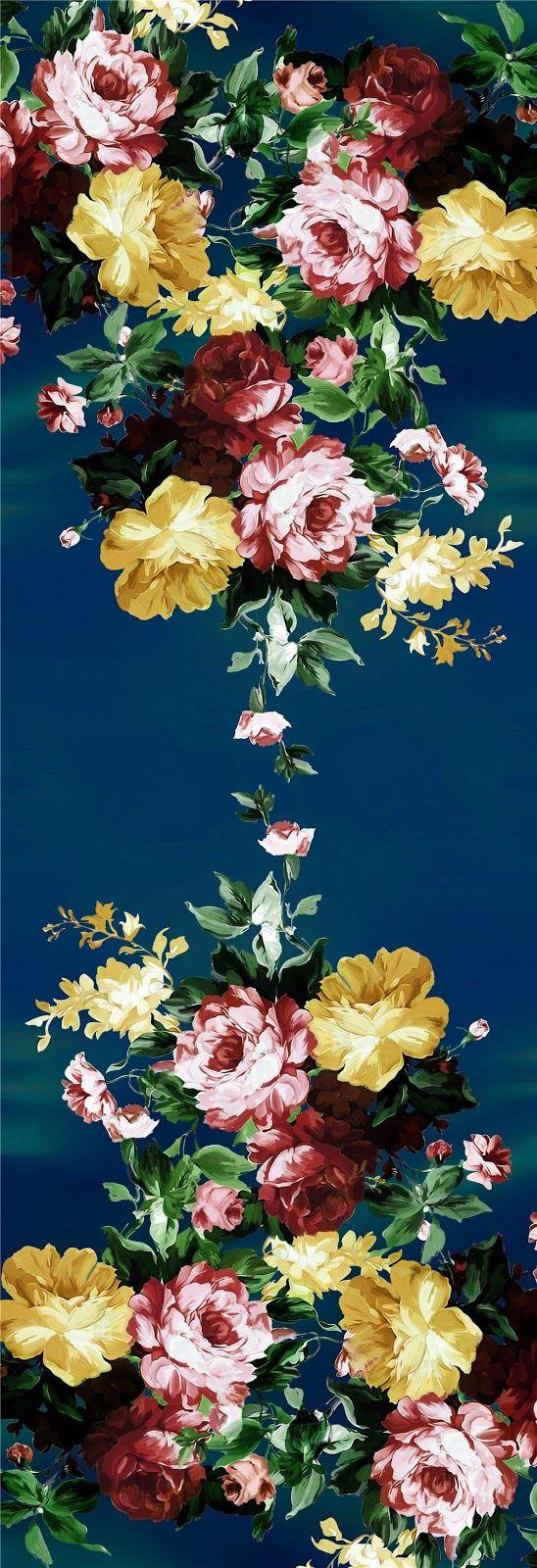 PAINTING_Flower Design_Digital Print_1 | Blisse Design Studio
