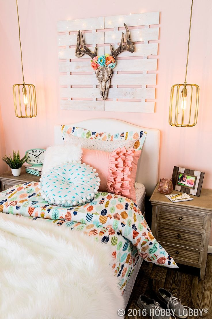 Go bold with a boho-inspired bedroom!