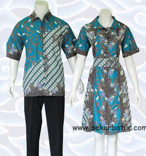 Best 25 Batik Couple Ideas On Pinterest Rok Batik