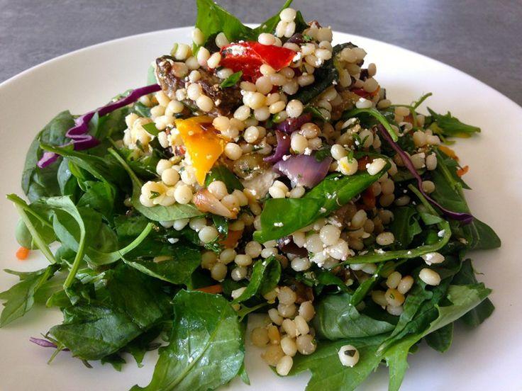 Couscous Salad with Roast Vegetables