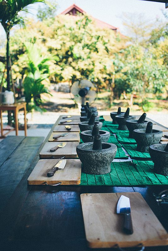 Thai Farm Cooking School, Chiang Mai, Thailand