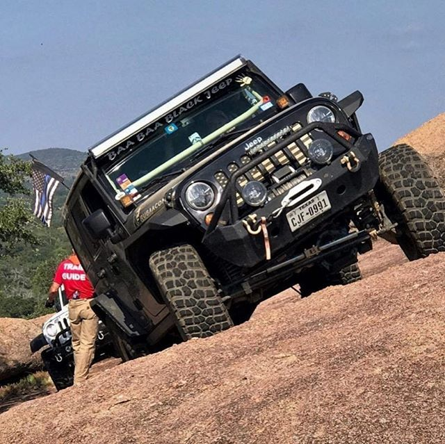 Puckerup When You Can Feel The Jeep Start To Lean A Little Too Far Good Times From Jeep Jamboree In Llano Texas Photo By Big Jeep Jamboree Jeep Good Times