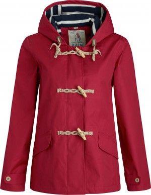 Seasalt Regenjacke Seafolly Redcurrant - Rot #hanseheld #seasalt #regenjacke #fashion #rot