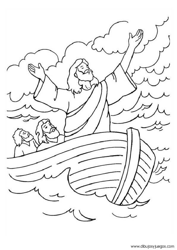 Susan Akins Posted Jesus Calms The Storm Coloring Page To Their Preschool Items Postboard Via Juxtapost Bookmarklet