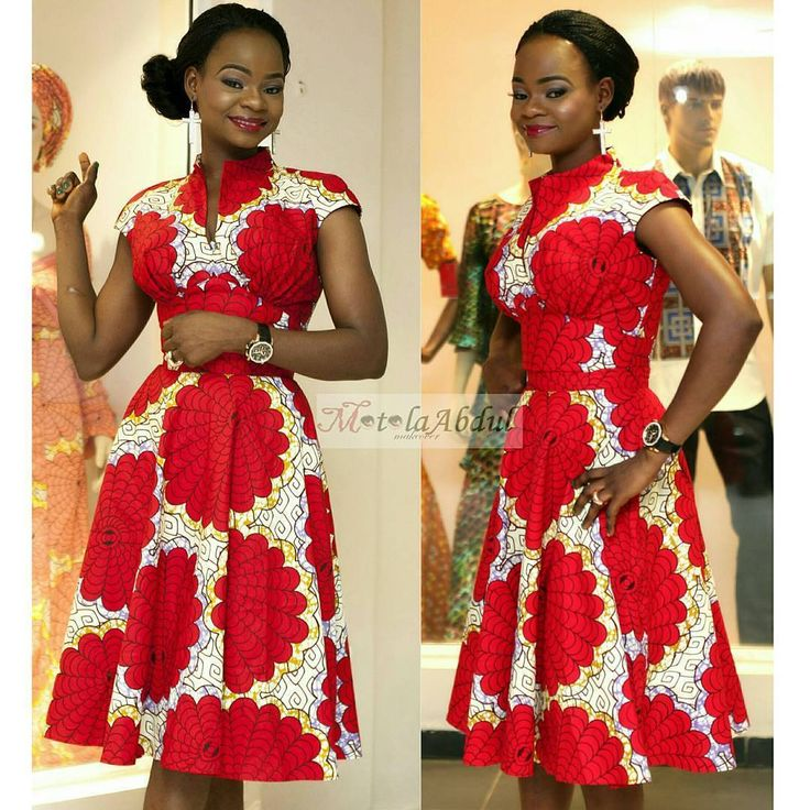 Olajumoke Orisaguna  ~African fashion, Ankara, kitenge, African women dresses, African prints, African men's fashion, Nigerian style, Ghanaian fashion ~DKK