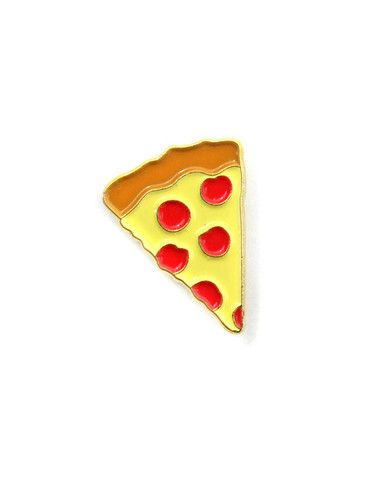 Pizza Emoji Lapel Pin – Strange Ways