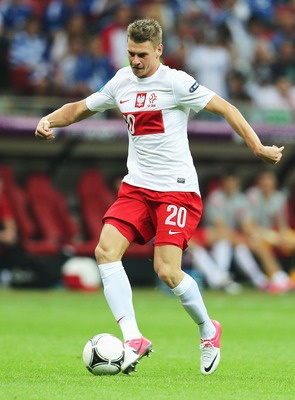 Piszczek the Menace----Poland right fullback