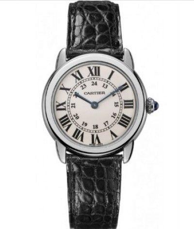 Buy Cartier Watches Ronde Solo de Cartier Steel Quartz Watch W6700155 Online  http://www.the-rolex-submariner.com                       http://www.pinterest.com/watch2buy http://www.facebook.com/watch22buy