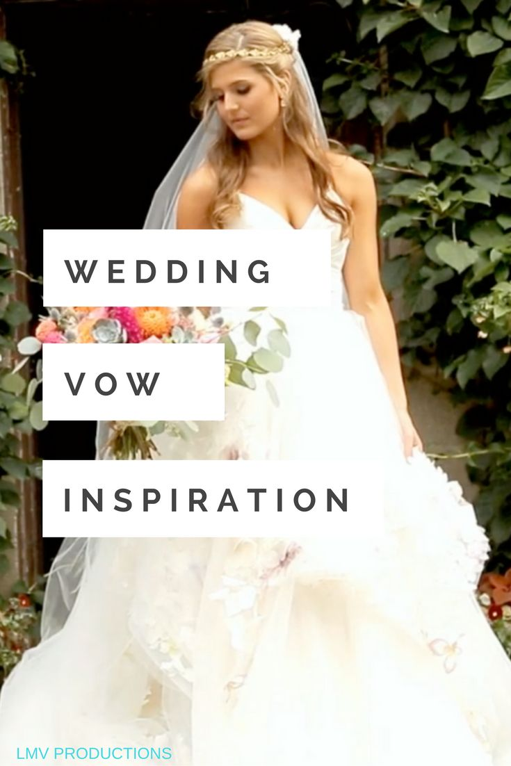 Real wedding videos are the BEST way to get ideas for your wedding vows: www.lovestoriestv.com