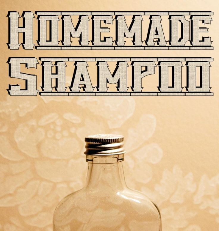 Homemade Liquid Shampoo