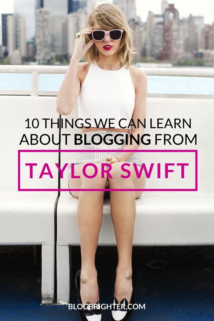 Taylor Swift on 30 Things She Learned Before Her 30th ...