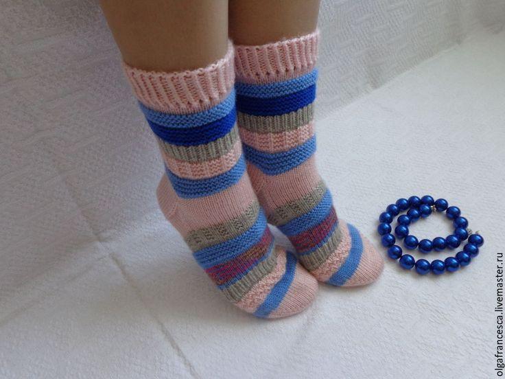 Купить Воспоминания Носки вязаные, шерстяные, домашняя обувь. Подарок - носки ручной работы