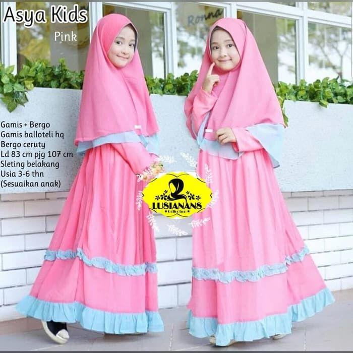 Baju Muslim Anak Terbaru Baju Muslim Muslim Baju Anak