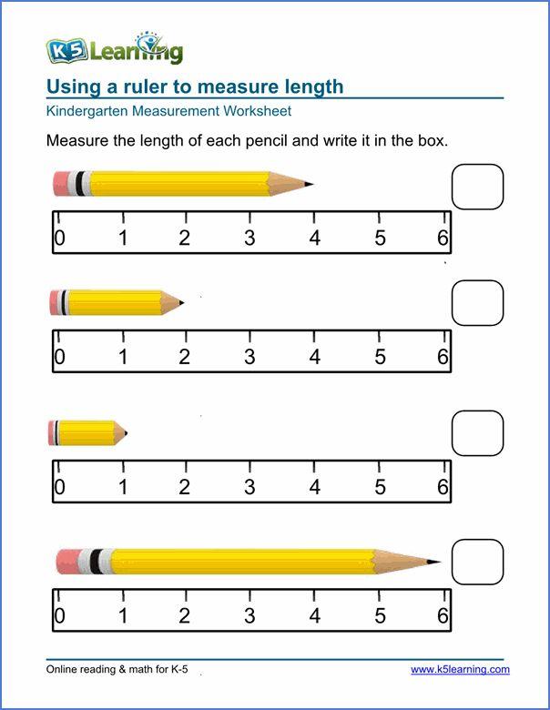 Measurement Worksheet Online Nel 2020 Matematica Semplice