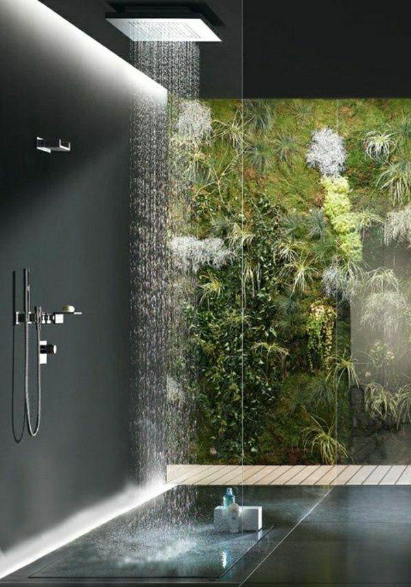 Die besten 25+ Dunkle badezimmer Ideen auf Pinterest Schiefer - luxus badezimmer wei mit sauna