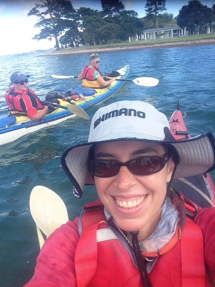 Kayaking in such a beautiful place can only make you smile!