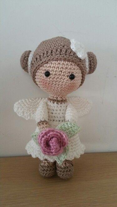Snap Gratis Patroon Engeltje Christmas Crochet Angels Decor