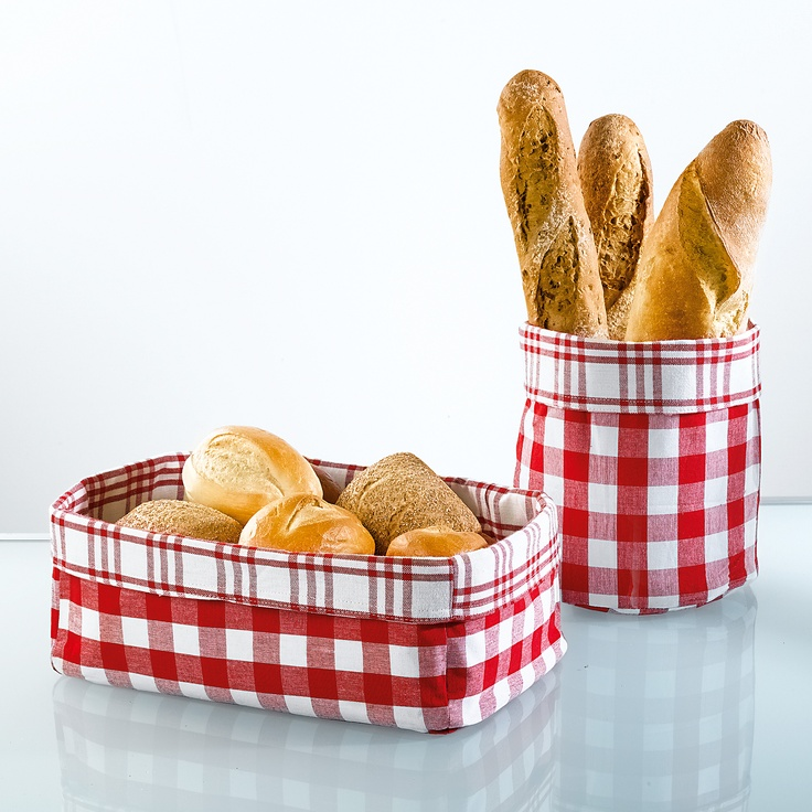 Paneras de tela   -   Fabric bread baskets