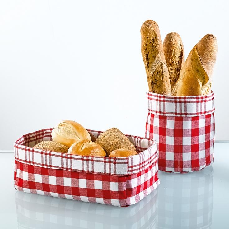 fabric bread baskets Mais
