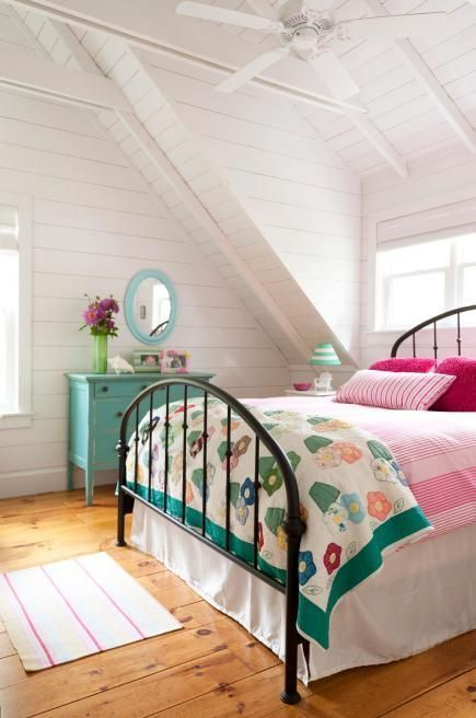 42 beautiful bedroom designs including cottage bedroom.