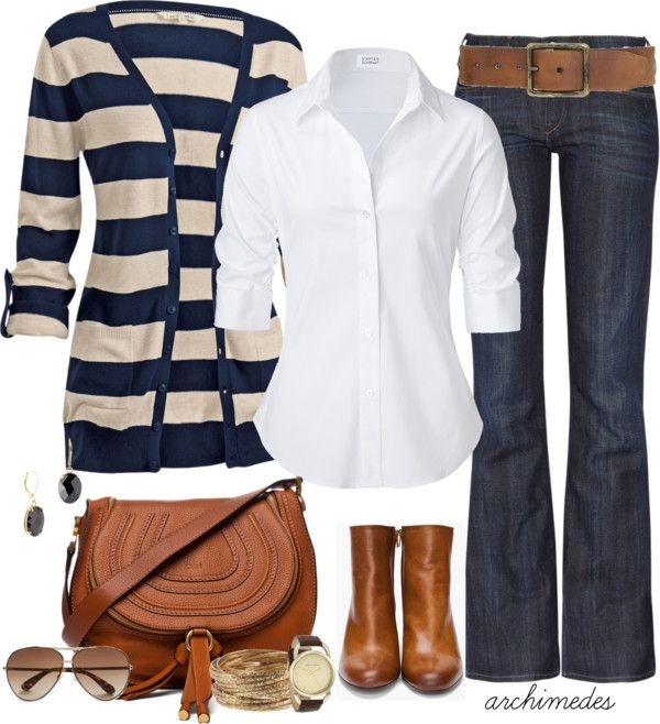 layers, cardi, brown leather