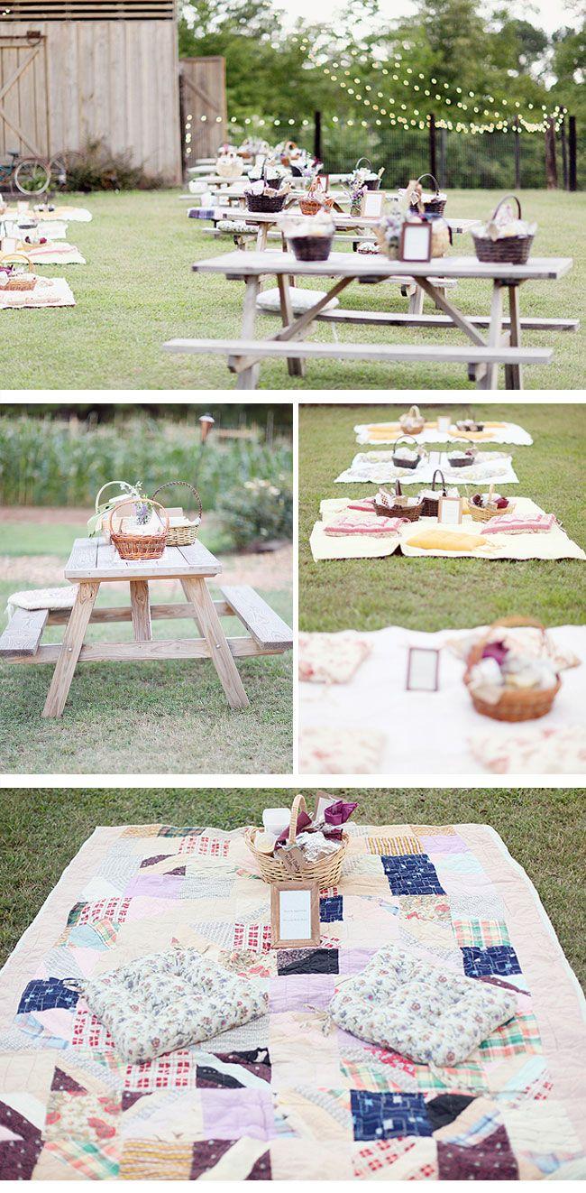 Para tu boda mantas de patchwork y cestas de mimbre - Cestos de minbre ...