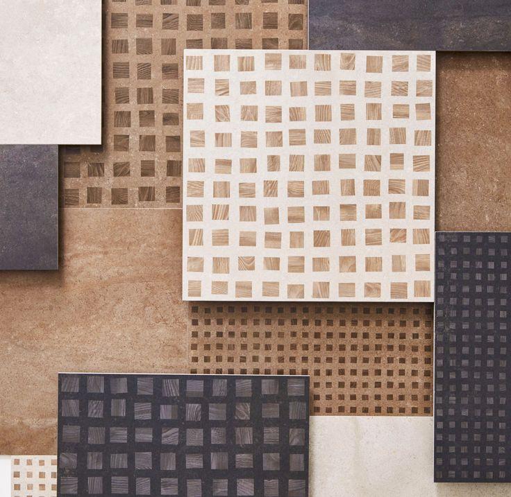 #BitsandPieces #BP by #GordonGuillaumier #desinger Mosaico wood #CeramichePiemme